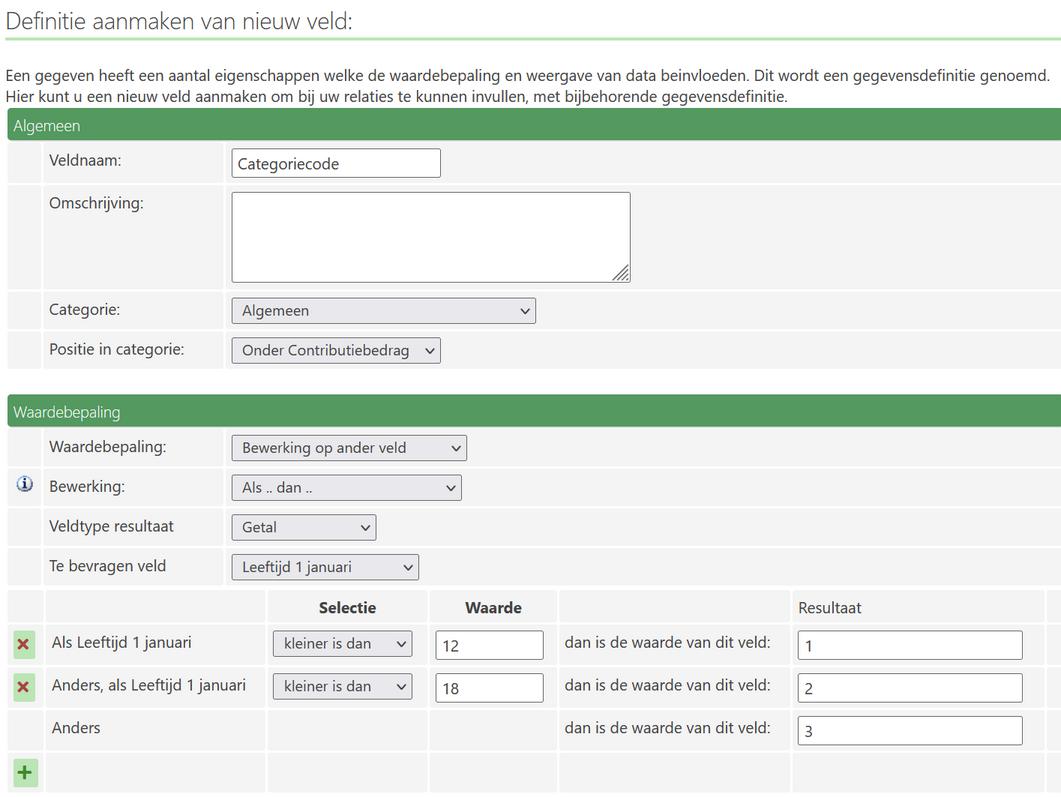 Leeftijdscategorieën En Contributie Conscribo Online Administratie